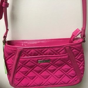 Vera Bradley Hot Pink Crossbody Handbag NWT